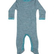 Heldress/Pyjamas ullsilke baby